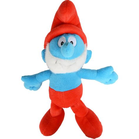 the smurfs 36cm 14 quot soft plush cuddly stuffed toy papa