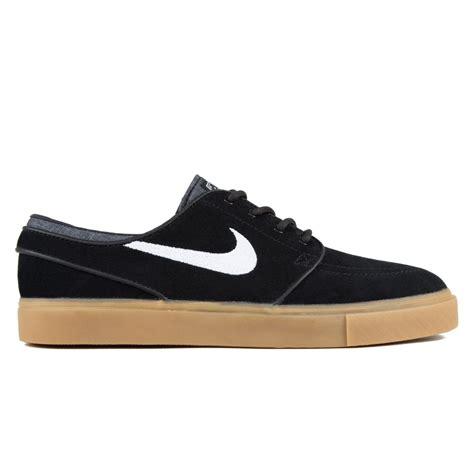 Nike Stefan Jonski Black nike sb zoom stefan janoski black white gum light brown