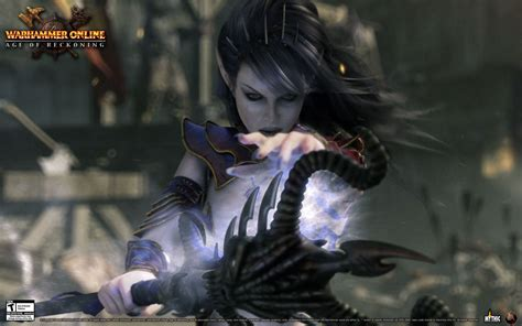 wallpaper dark elf dark elf sorceress wallpaper