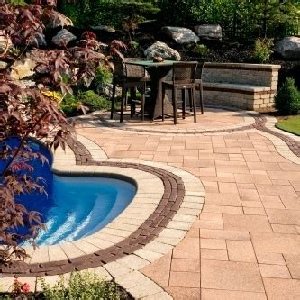 Unilock Patio Cost 25 Best Images About Pool Brick Designs On
