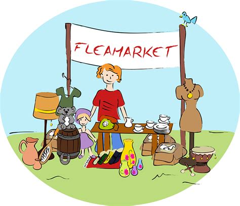 Exceptional Church Signs For Sale #9: Flea-Market-clipart.png