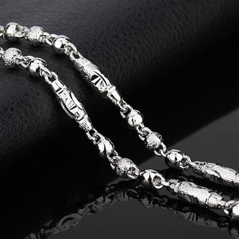 venta de cadenas para hombre venta al por mayor cadenas de oro blanco para hombre