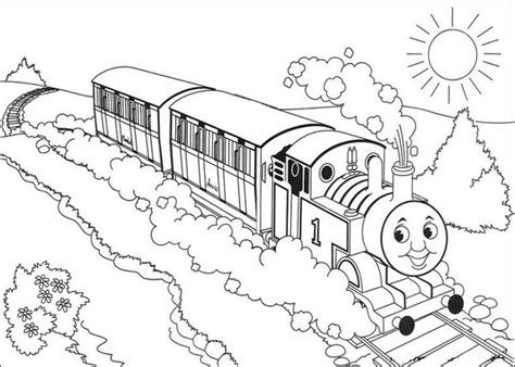 13 printable thomas the train coloring pages print color