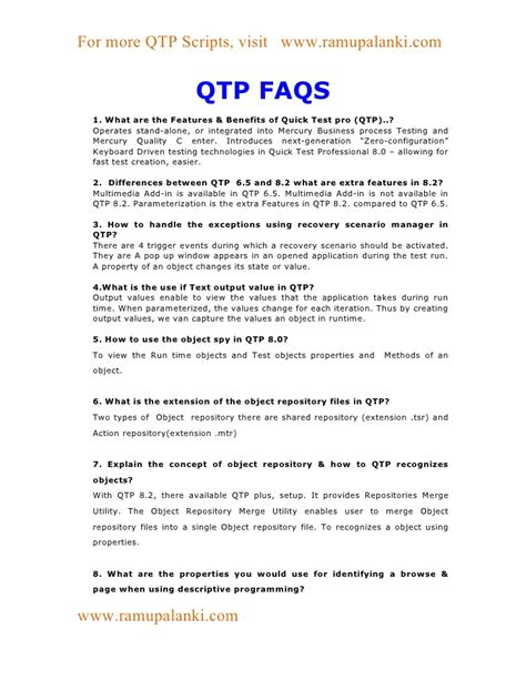 video tutorial for qtp for beginners qtp material for beginners
