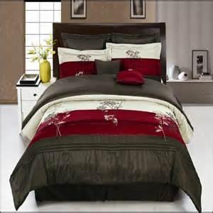 King Size Bedding Burgundy Portland Burgundy King Size Luxury 8 Comforter