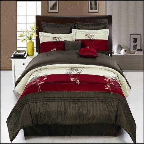 Portland Burgundy King Size Luxury Portland Burgundy King Size Luxury 8 Comforter Set Includes Comforter Skirt Throw