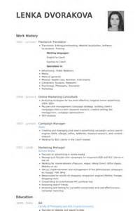 Interpreter Resume Sample Freelance Translator Resume Samples Visualcv Resume