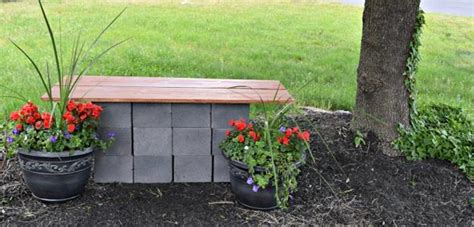 cinder block garden bench diy garden benches and tables made with cinder blocks