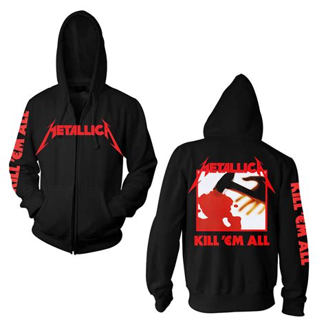 Jacket Sweater Hoodie Metallica backstreetmerch metallica categories official merch
