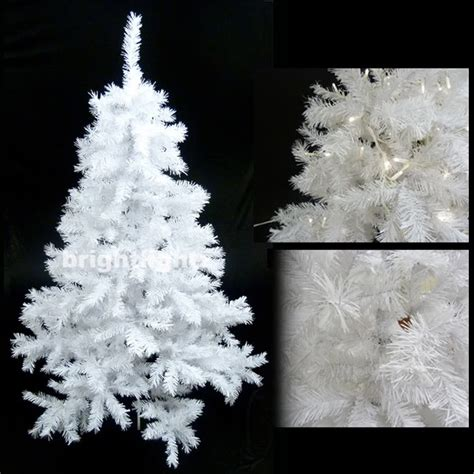white artificial christmas tree 6ft 180cm with 680 tips