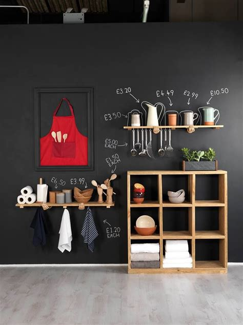 chalkboard kitchen wall ideas best 25 kitchen chalkboard walls ideas on