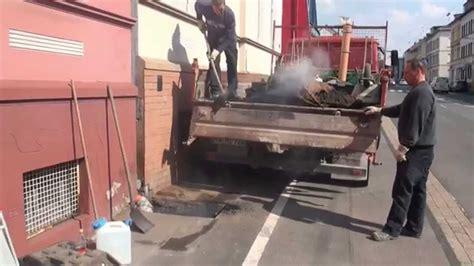 asphaltieren firmen dachrinnen fallrohr im erdreich erneuern asphaltieren