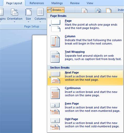 membuat halaman di word 2013 cara membuat halaman berbeda di word adhitya nugraha