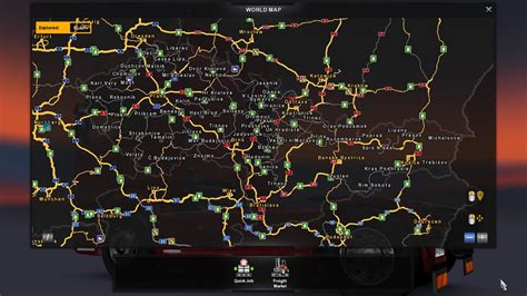ets2 usa map cz sk addon map 2 2 mod truck simulator 2 mods