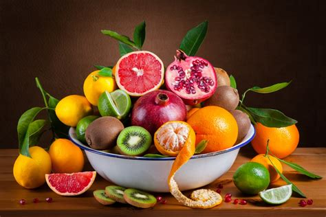 bowl of fruits making of winter fruit bowl food photography behind