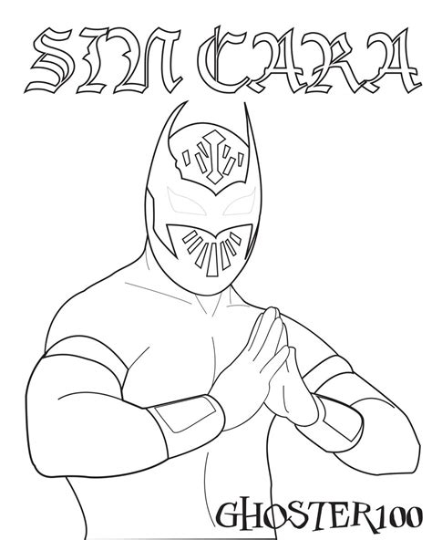 lucha dragons coloring pages wwe lucha dragons coloring pages coloring pages