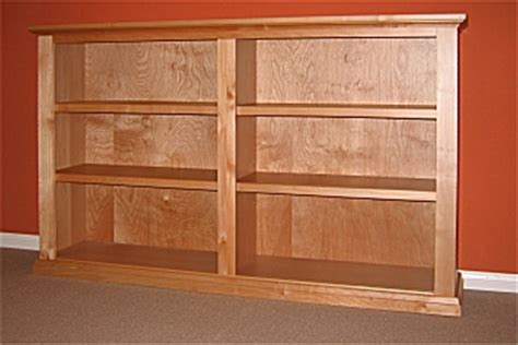 solid wood maple bookcase solid wood custom bookcases