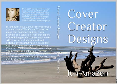 Kdp Jumpstart Topic 9 Design Your Cover Amazon Kindle Direct Publishing Kdp Paperback Template