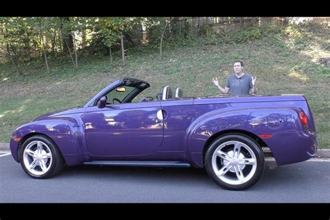 chevy made the chevy ssr is one of the weirdest cars chevy
