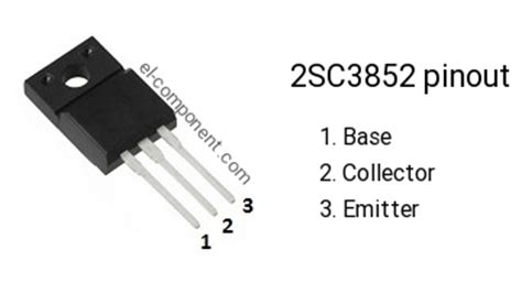 Transistor D1415 2sc3852 n p n transistor complementary pnp replacement pinout pin configuration substitute