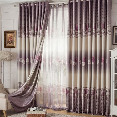 cheap floral curtains cheap rose floral grey print ready made curtains