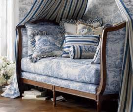 French Blue Upholstery Fabric French Amp Shabby Chic Daybeds I Heart Shabby Chic