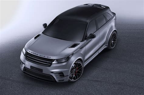 land rover lumma widebody range rover velar by lumma is all show with no