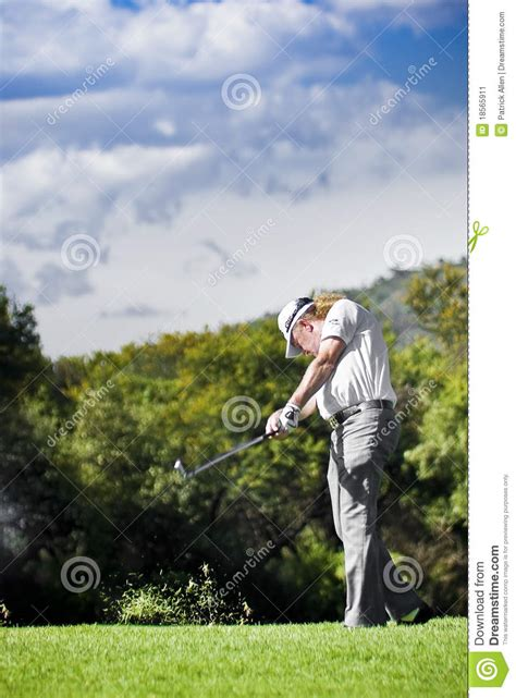 miguel angel jimenez golf swing miguel angel jimenez ngc2010 editorial photo image