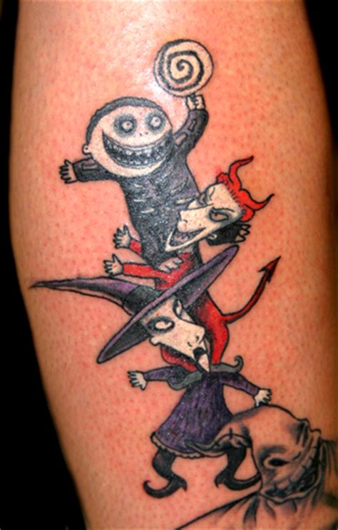 lock stock and barrel tattoo the gallery for gt tim burton inspired tattoos