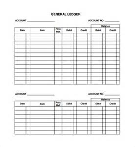 T Ledger Template by Accounting Ledgers Templates T Account Ledger Template
