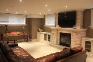 Small Basement Decorating Ideas Small Basement Family Room Ideas Basement Recreation Room Contemporary Basement Toronto