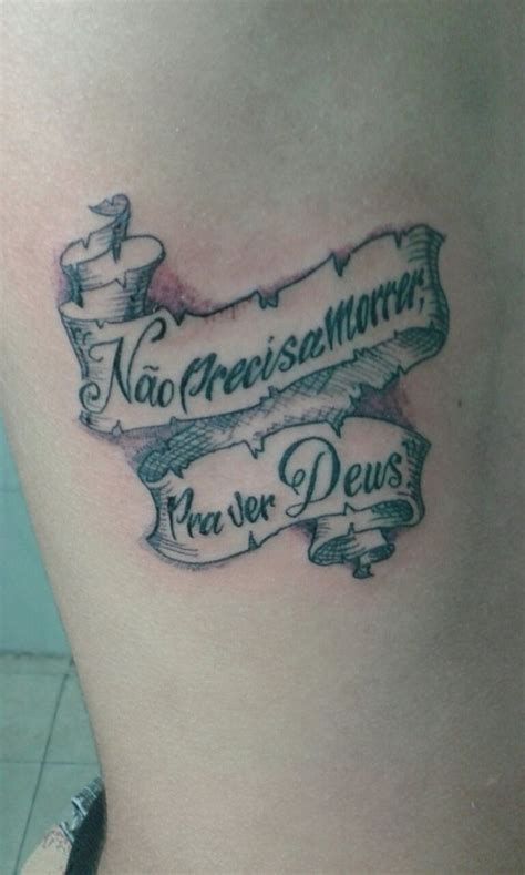 pergaminho frase tatuagem com tatuagens tattoo
