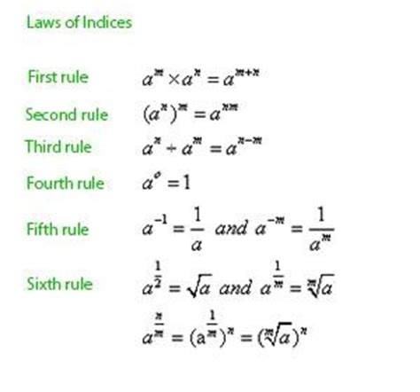 tutorial questions on indices indices in mathematics toscany academy