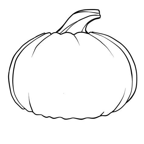 pumpkin outline clipart best