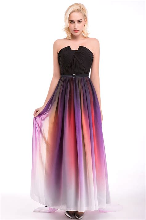 multi color wedding dress in stock 100 real pic multi color bridesmaid dresses