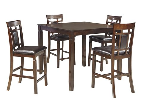 brown dining room table southside furniture bennox brown dining room counter table set