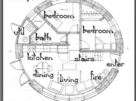 Post Circle Floor Plans by Circle House Plans Mexzhouse