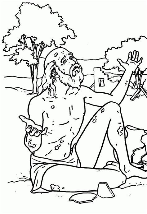 imagenes de historias biblicas para pintar historia biblica de job para colorear
