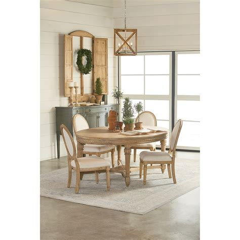 magnolia home joanna gaines traditional oval antique dining table wheat finish stoney creek furniture dining tables