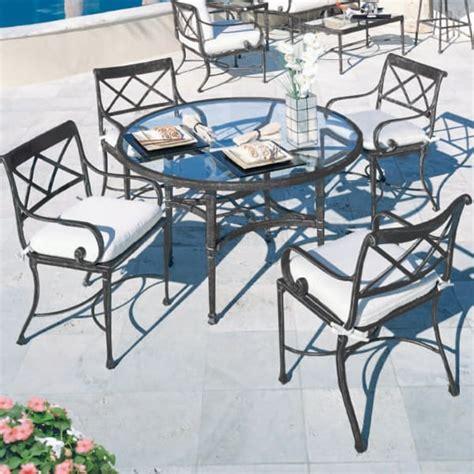 bellagio patio dining set by cast classics