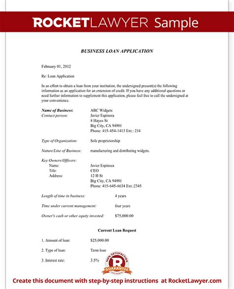 small business loan template business loan application form with sle template