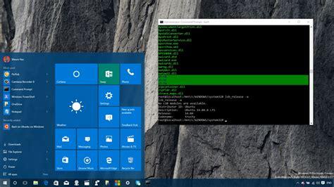 install windows 10 with ubuntu how to install native bash on ubuntu on windows 10