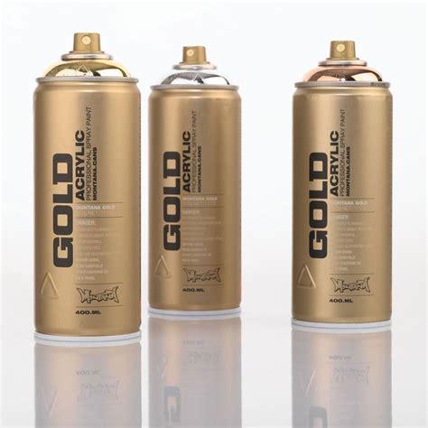 spray paint gold acrylic professional spray paint montana gold spray paint
