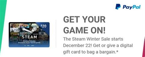 How To Put Visa Gift Card Money Into Paypal - paypal steam gift card ukegbu steam wallet code generator
