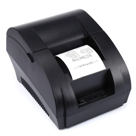 Printer Thermal zj 5890k portable 58mm usb port pos receipt thermal printer in printers from computer office