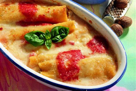 cosa cucinare con le melanzane ricetta cannelloni con melanzane e ricotta la cucina