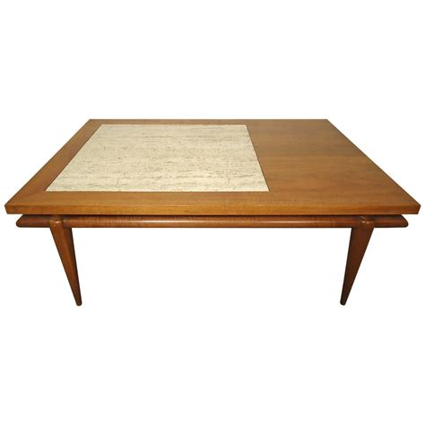 Table Insert by Mid Century Coffee Table With Marble Insert By
