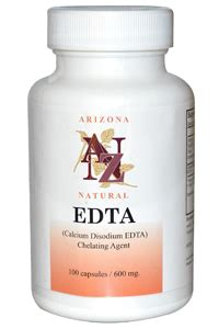 Edta Detox Bath by Arizona Edta Chelating 100 600mg Caps