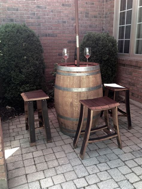 best 25 wine barrel table ideas on whiskey