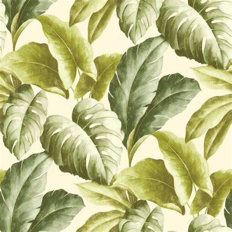 botanical wallpaper grandeco botanical tropical leaves pattern wallpaper tree
